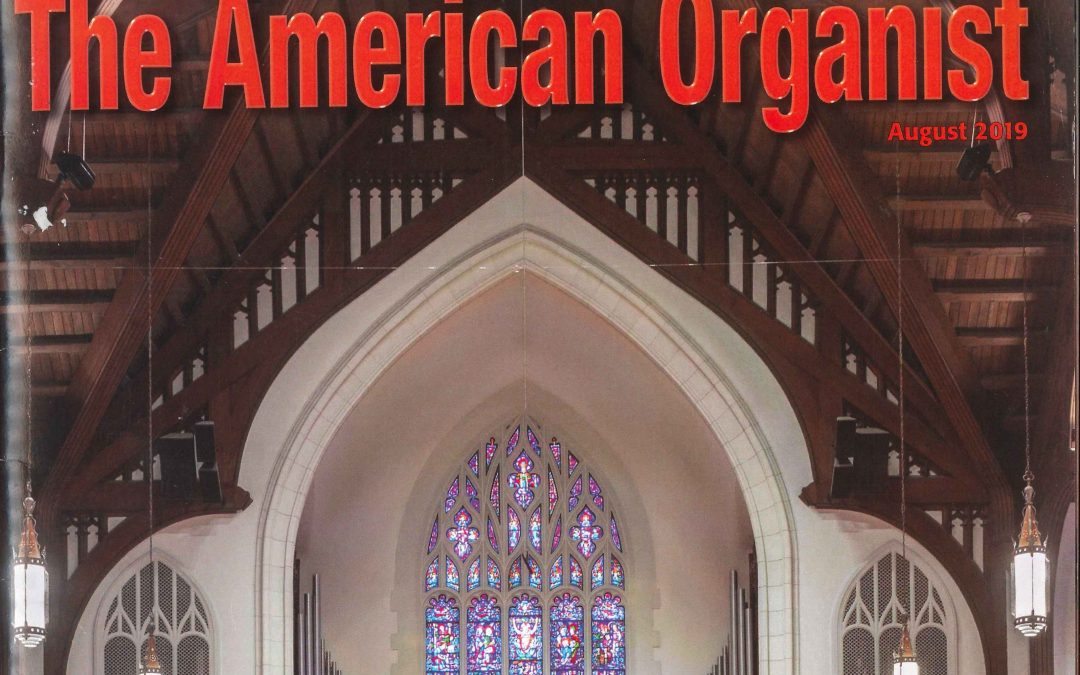 Organists Guild Magazine Highlights St. Paul's Organ