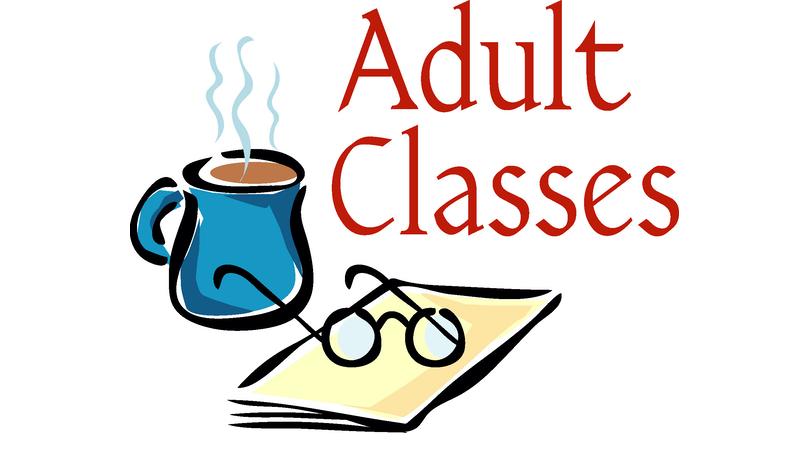 Wednesday Adult Education